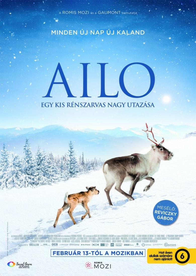 Aïlo - Egy kis rénszarvas nagy utazása