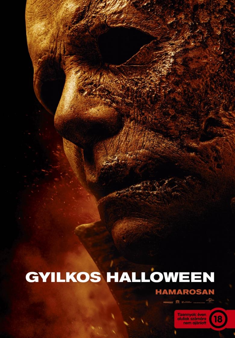 Gyilkos Halloweeen plakátja