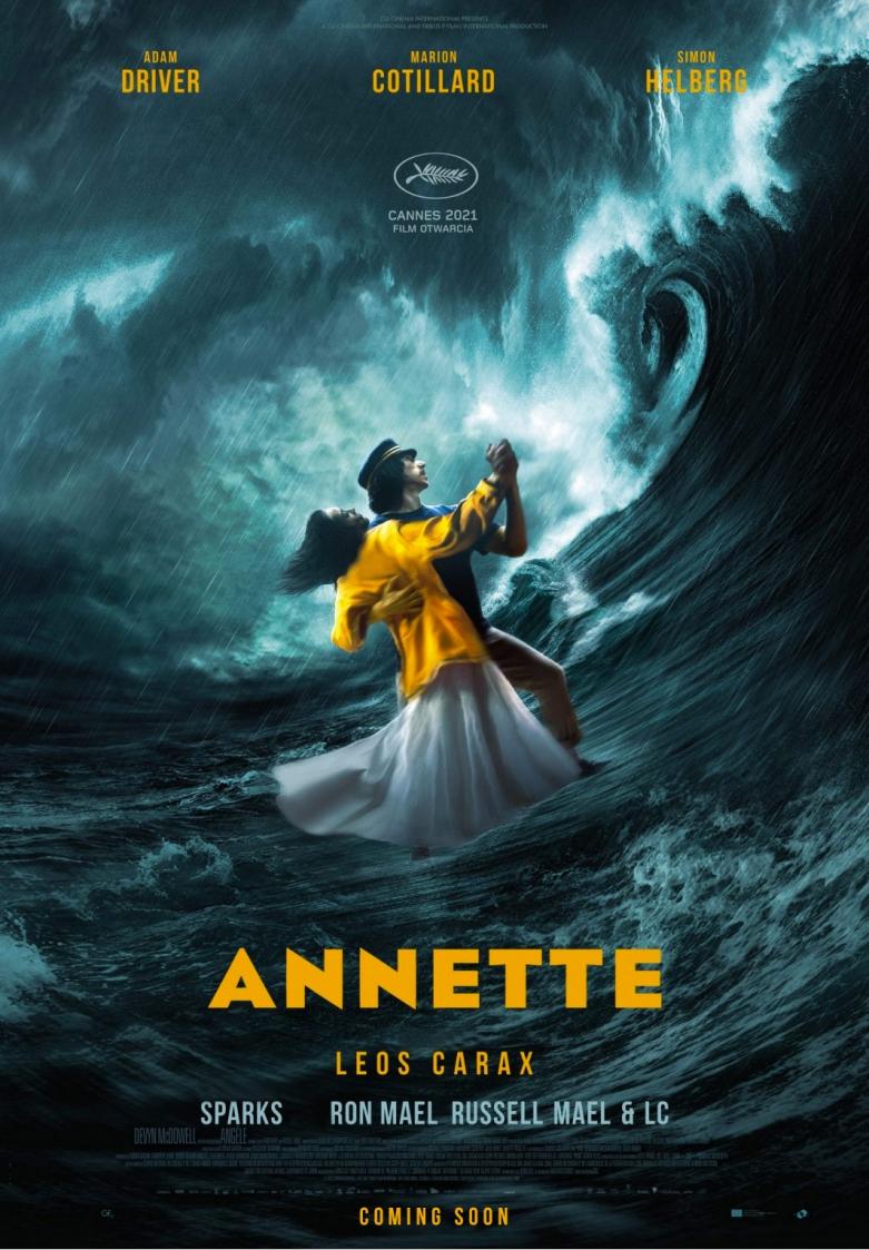 Annette / 6.Európai Art Mozi Nap plakátja
