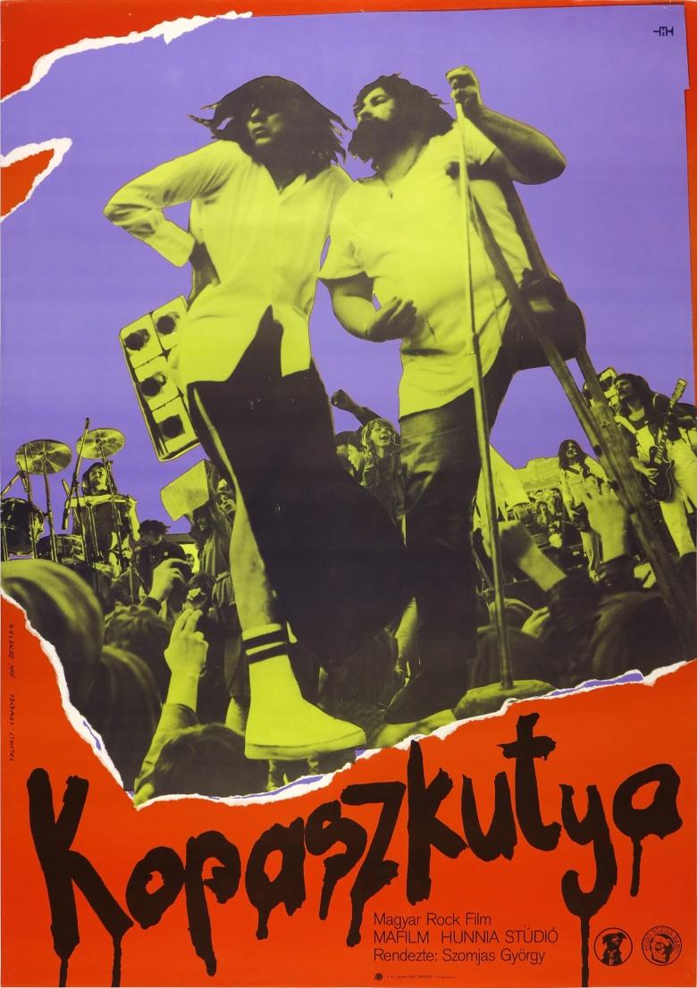 Kopaszkutya / 6.Európai Art Mozi Nap plakátja