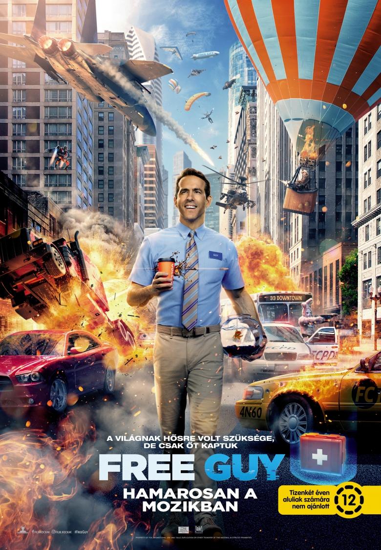 Free Guy plakátja