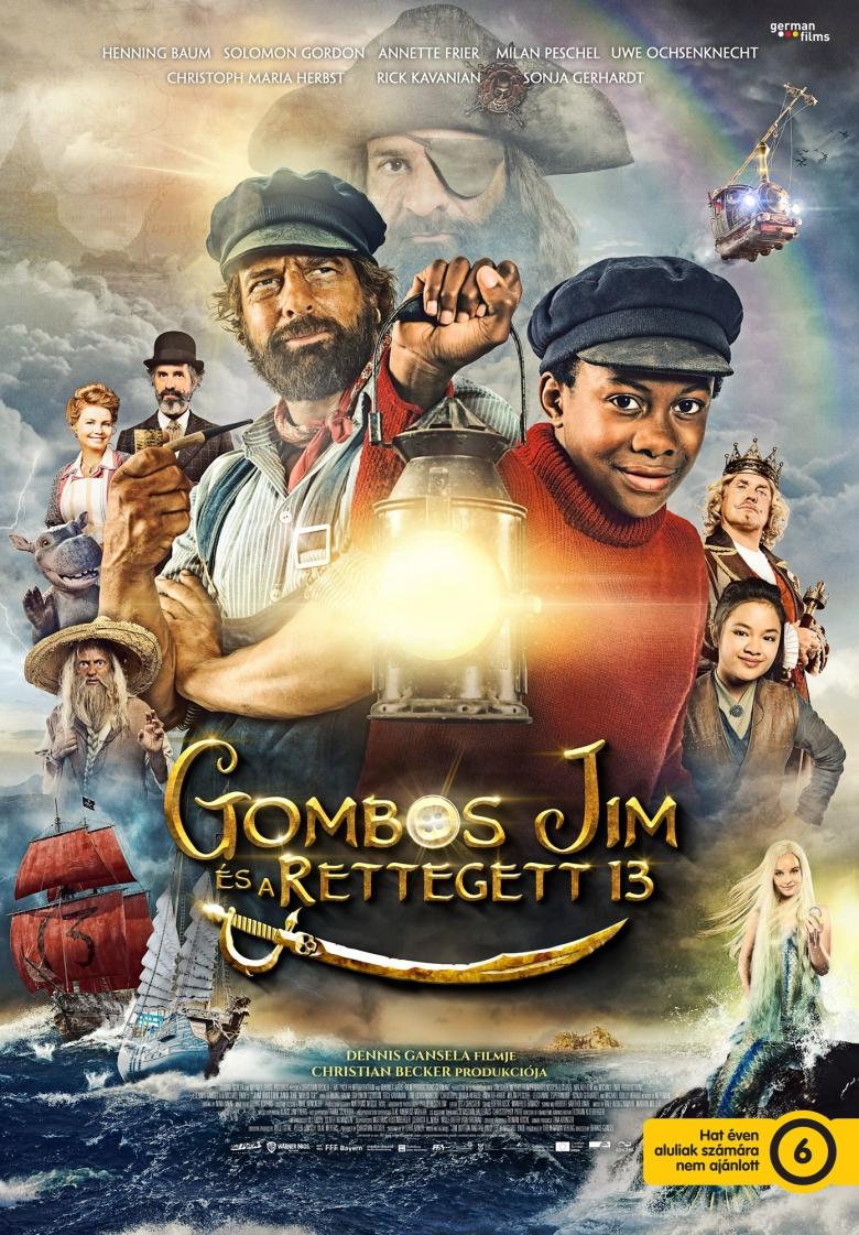 Gombos Jim és a rettegett 13 plakátja