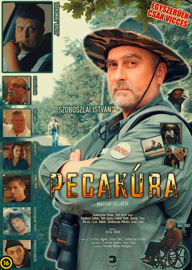 Pecakúra plakátja