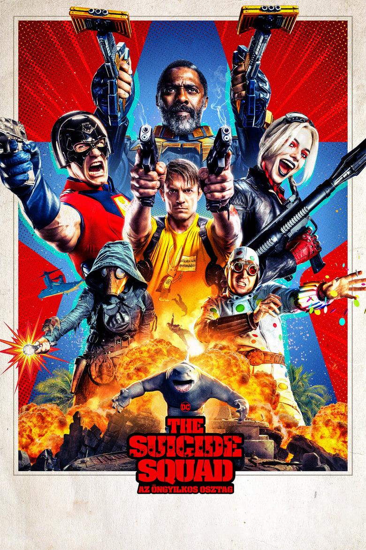 The Suicide Squad - Az öngyilkos osztag plakátja