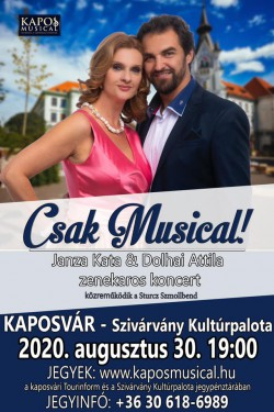Csak Musical! - Janza Kata & Dolhai Attila zenekaros koncert
