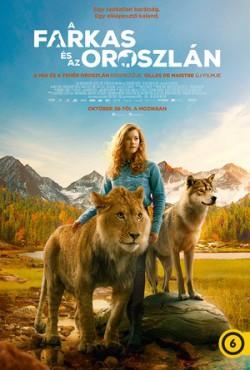 A farkas és az oroszlán plakátja